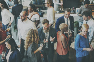 What do you like most about networking with people?